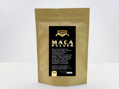 Økologisk Maca pulver - 125g