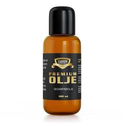 Økologisk sesamfrøolje for hår og hud  - 100ml