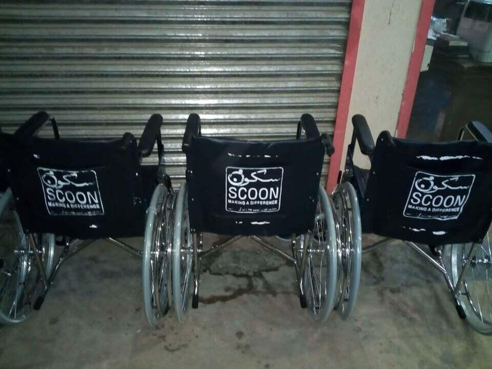 Spons en rullestol