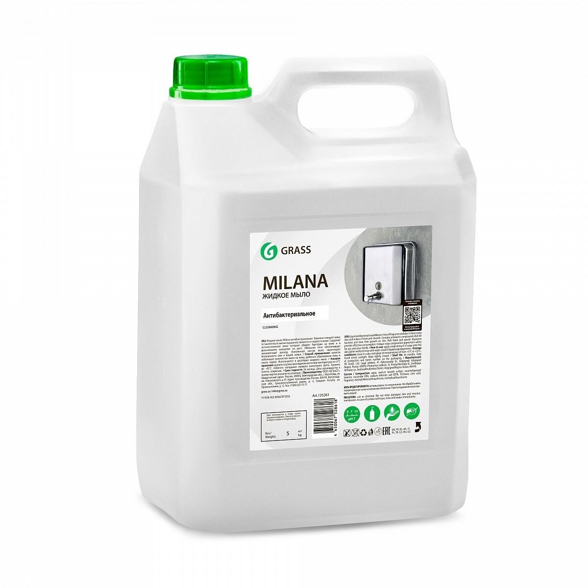 Milana Antibacterial liquid soap, 5 l