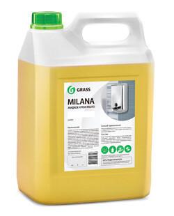 """Жидкое крем-мыло """"Milana"""" молоко и мед, 5 л"""