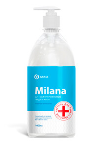 Milana Antibacterial liquid soap, 1 l