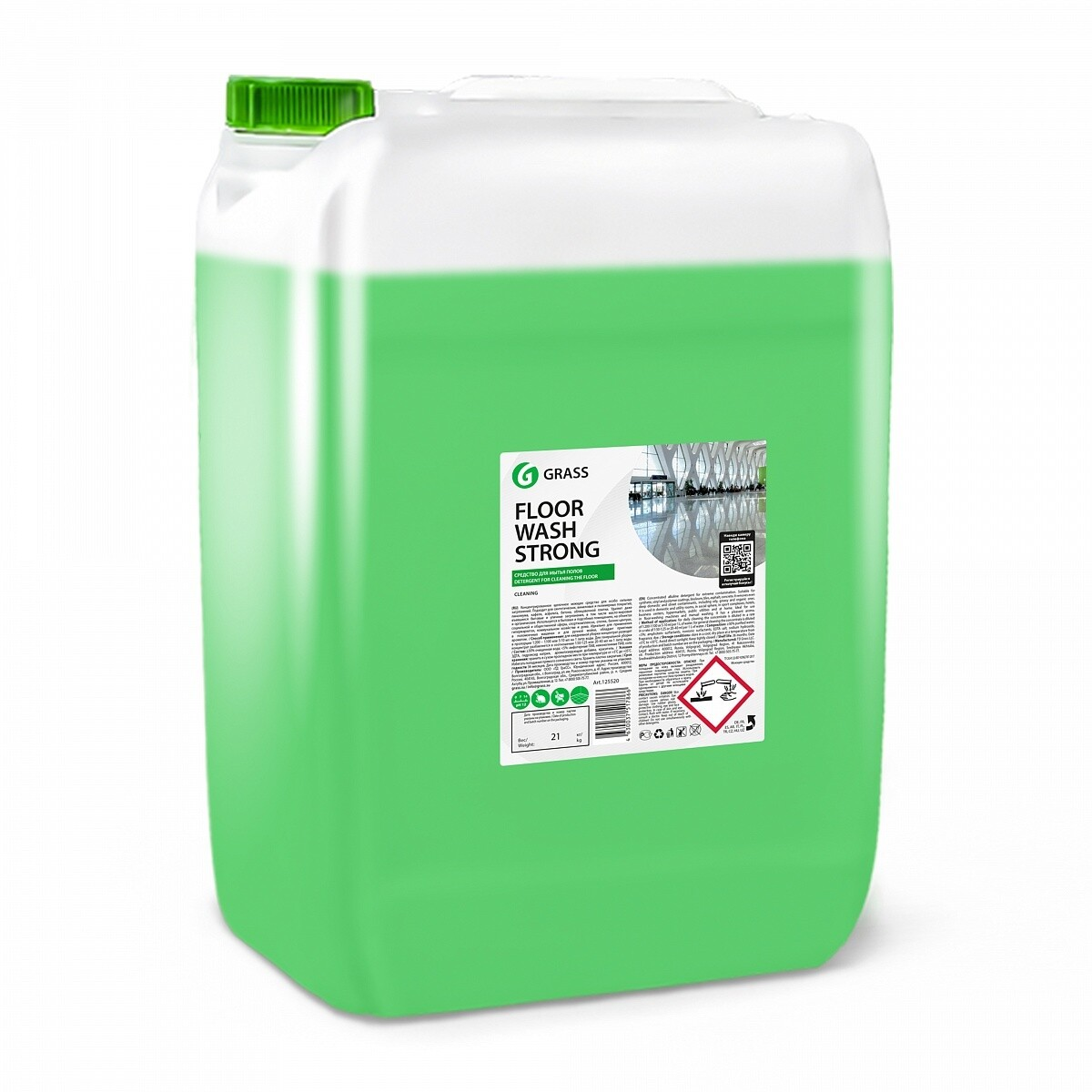 Floor wash Strong alkaline floor cleaner, 21,3 kg