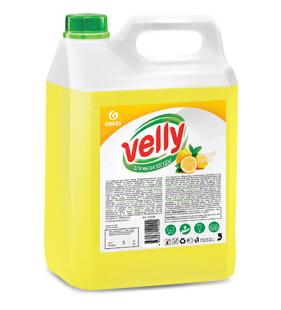 "Средство для мытья посуды ""Velly"" лимон, 5 л"