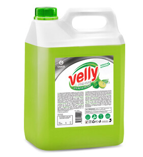 Dishwashing liquid Velly premium, lime and mint, 5,1 kg
