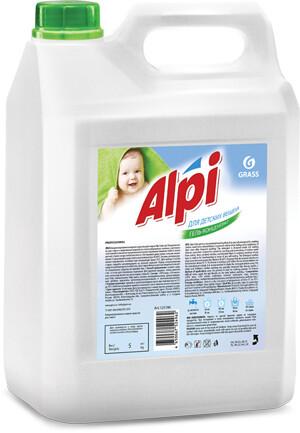 """Концентрированное жидкое средство для стирки """"ALPI sensetive gel"""", 5 л"""