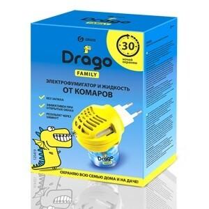 """""""Жидкость от комаров"""". Комплект: электрофумигатор + жидкость от комаров Drago 30 мл"""