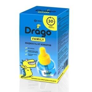 """Средство инсектицидное """"Жидкость от комаров"""" Drago"""