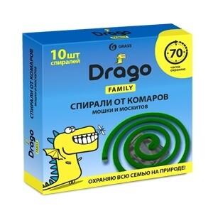 Средство инсектицидное «Спираль от комаров – эффект» Drago