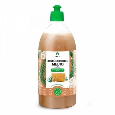 Мыло жидкое хозяйственное с маслом кедра