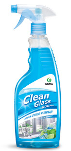 Glass and mirror cleaner Clean Glass, 600 ml