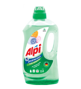 """Гель-концентрат для цветных вещей """"ALPI"""", 1,5 л"""