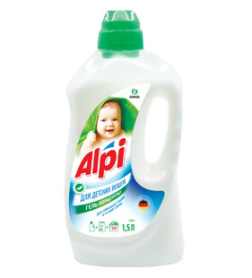Gel-concentrate for baby clothes Alpi sensitive, 1,5 l