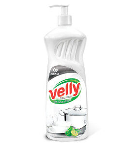 "Средство для мытья посуды ""Vellyi Premium"" лайм и мята, 1 л"