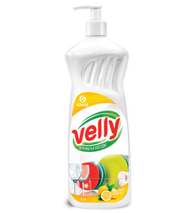Dishwashing liquid Velly, lemon, 1 l