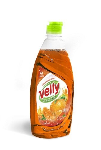 Средство для мытья посуды «Velly» Сочный мандарин, 500 мл