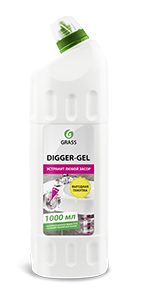 Gel for pipe cleaning Digger-gel, 1 l