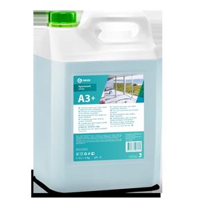А3+ Моющее средство для стекол, зеркал и кафельной плитки. Концентрат, 5 кг