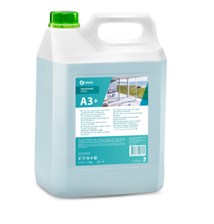 Glass, window, mirror and tile cleaner A3+/A3 apartment series (Concentrate), 5 kg