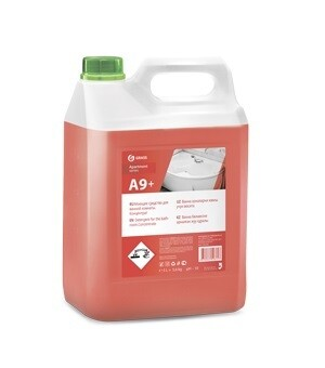 Detergent for the bathroom A9+/A9 Apartment series, (Concentrate), 6 kg