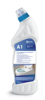 Toilet room daily cleaner A1+/A1 Apartment series (Ready solution), 750 ml