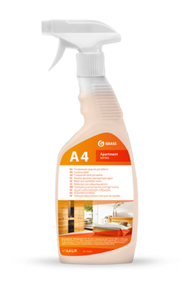 Furniture polish A4 Apartment series, 600 ml