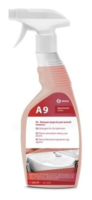 Detergent for the bathroom A9+/A9 Apartment series (Ready solution), 650 ml