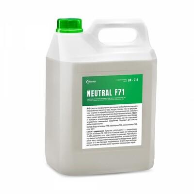 Нейтральное пенной моющее средство с содержанием ЧАС NEUTRAL F71