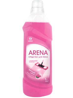Floor cleaner with polishing effect, 1 l