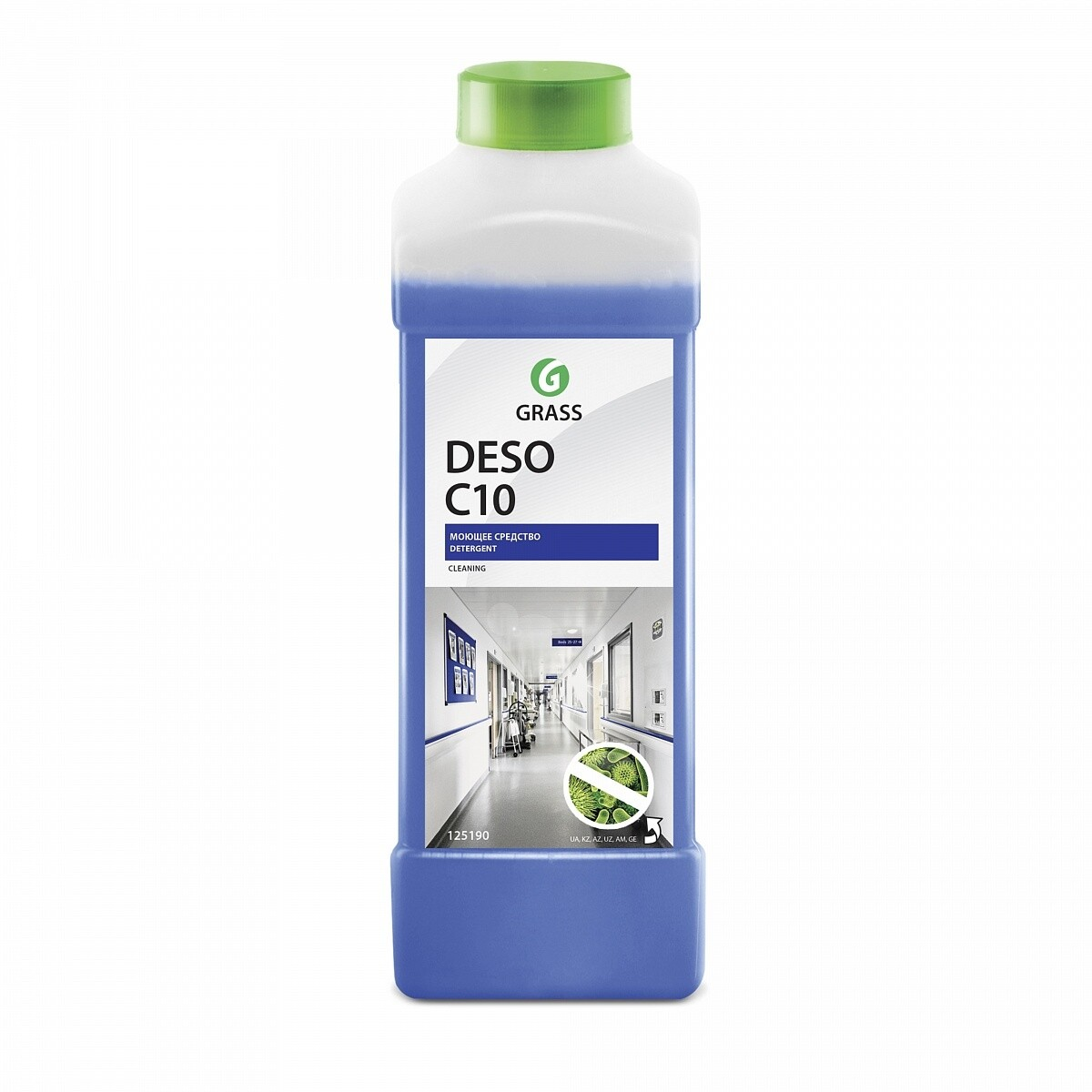 Detergent with disinfection effect deso с10, 1 l