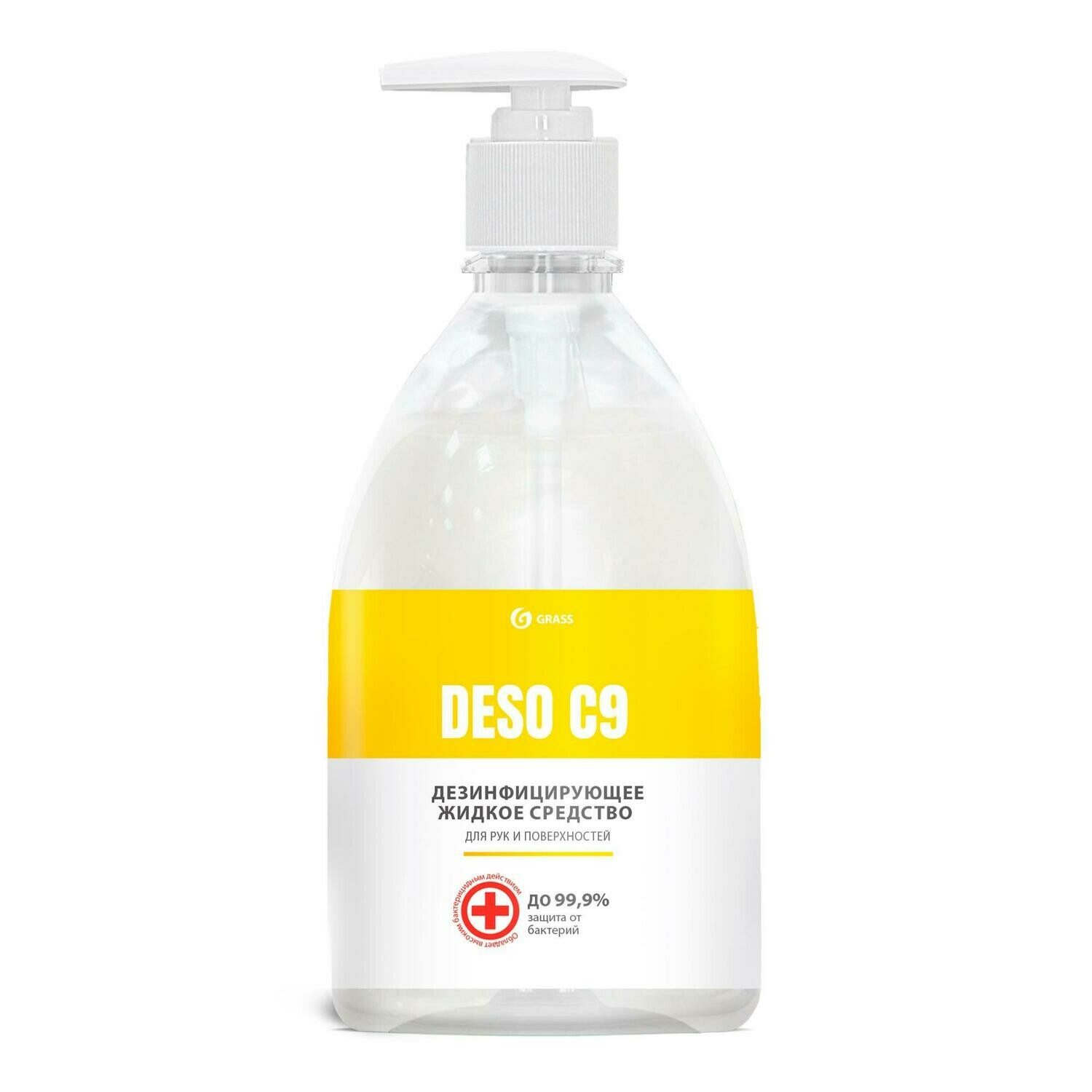 Disinfecting agent for hygienic treatment of hands, 500 ml