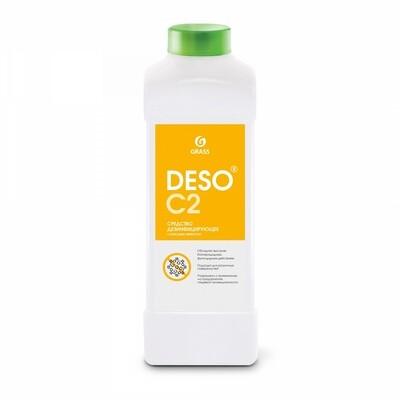 Дезинфицирующее средство с моющим эффектом на основе ЧАС DESO C2, канистра 1 л