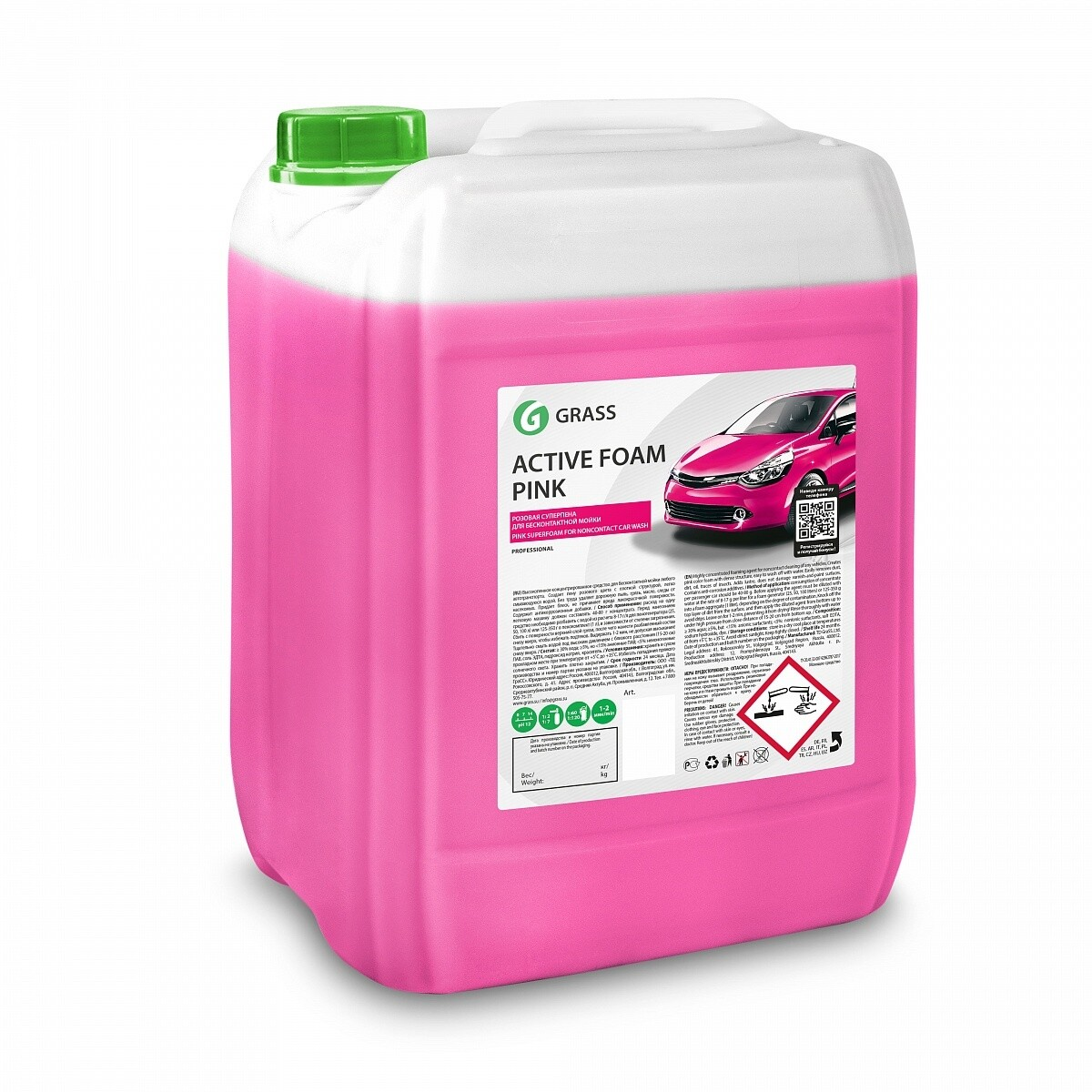 "Активная пена ""Active Foam Pink"", 23 кг"