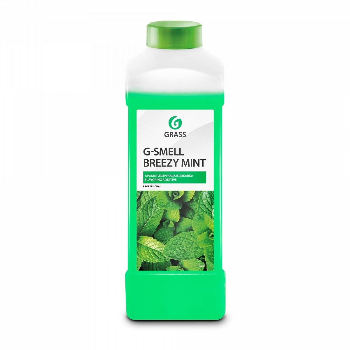 "Жидкая ароматизирующая добавка ""G-Smell Breezy Mint"", 1 л"