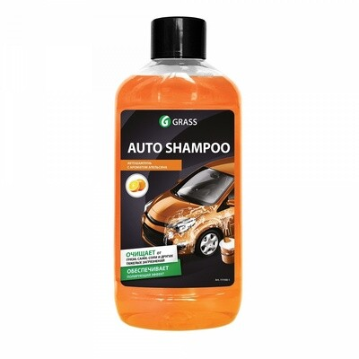 """Автошампунь для ручной мойки """"Auto Shampoo"""" с ароматом апельсина, 1 л"""