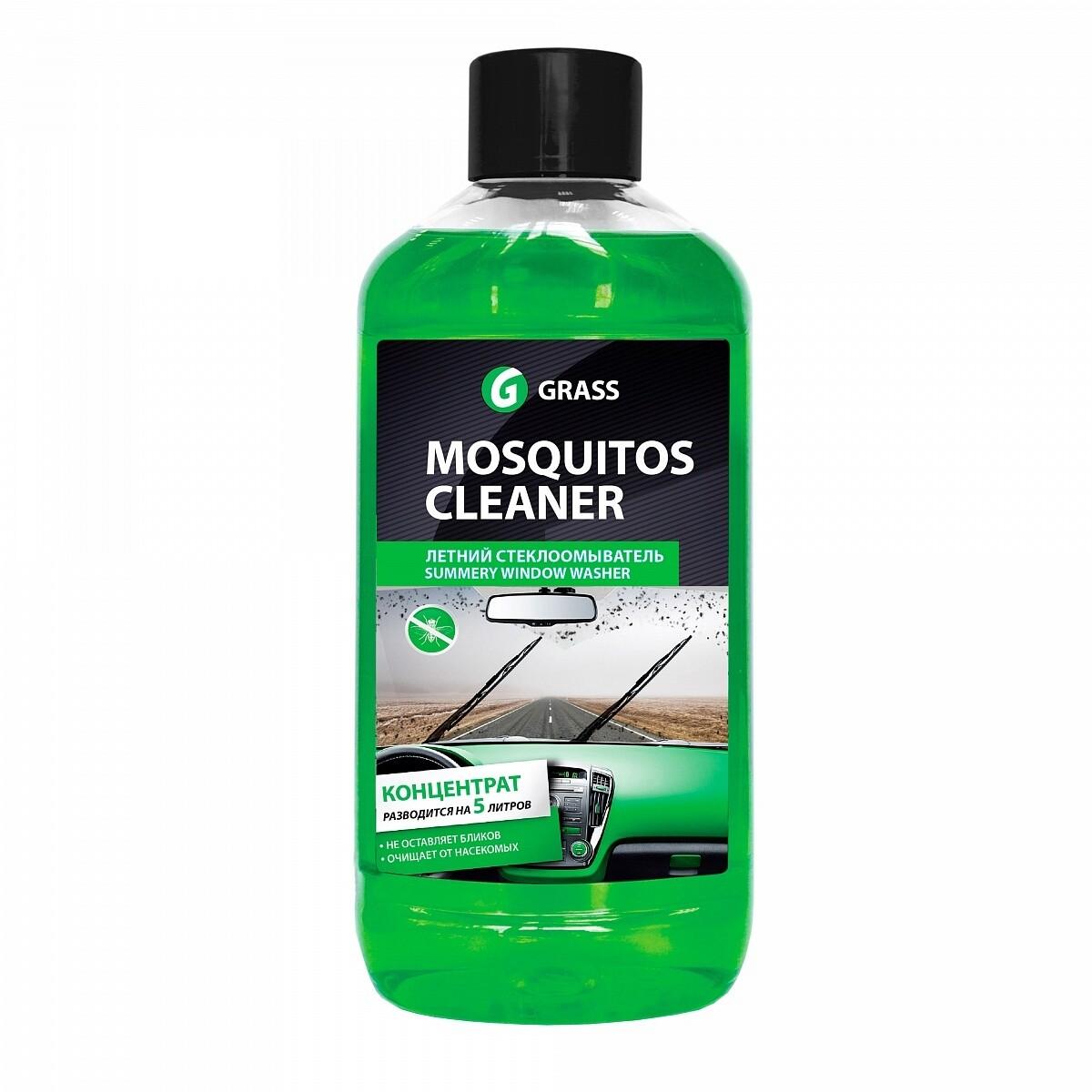 """Концентрат летнего стеклоомывателя """"Mosquitos Cleaner"""", 1 л"""
