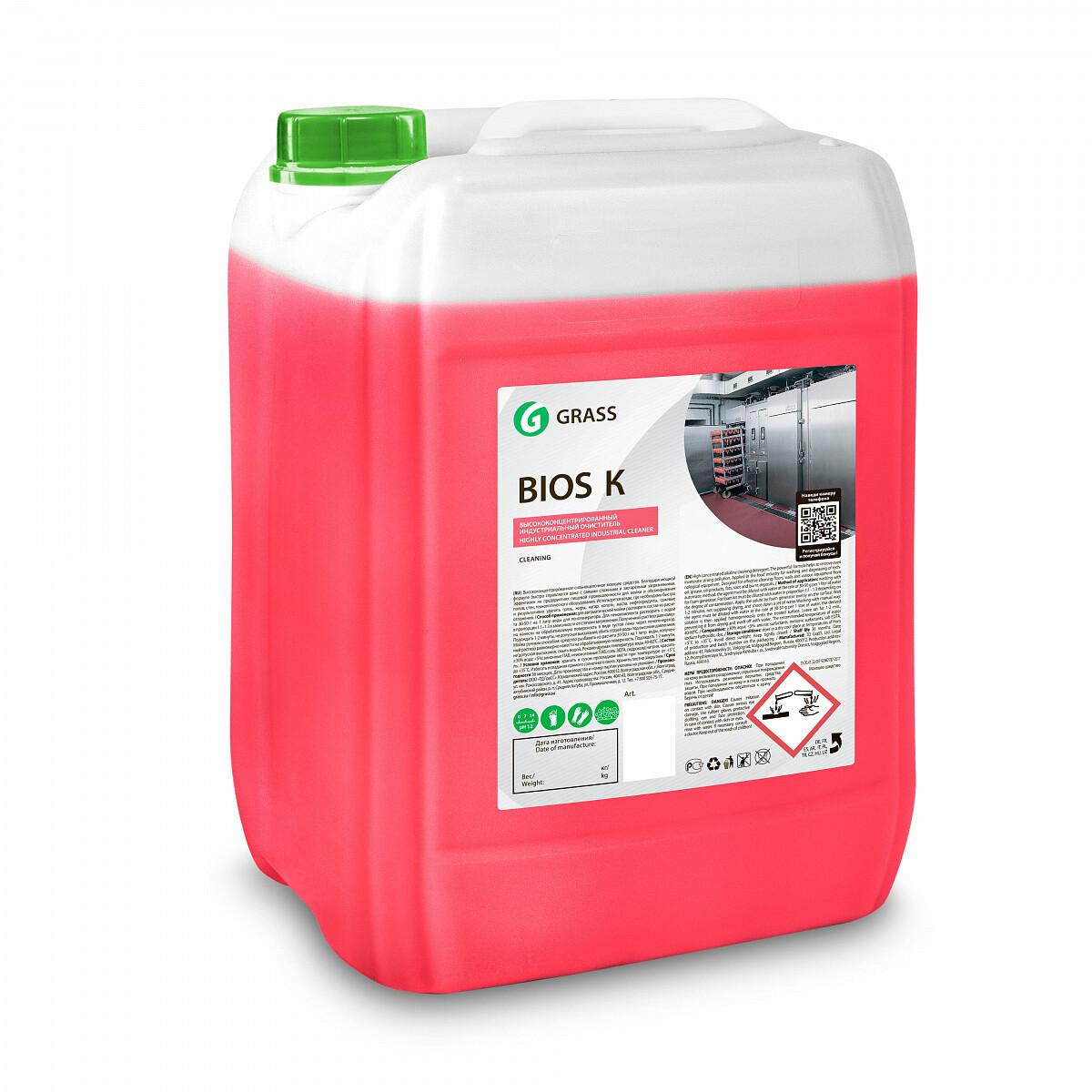 """Моющее средство """"Bios K"""", канистра 22,5 кг"""