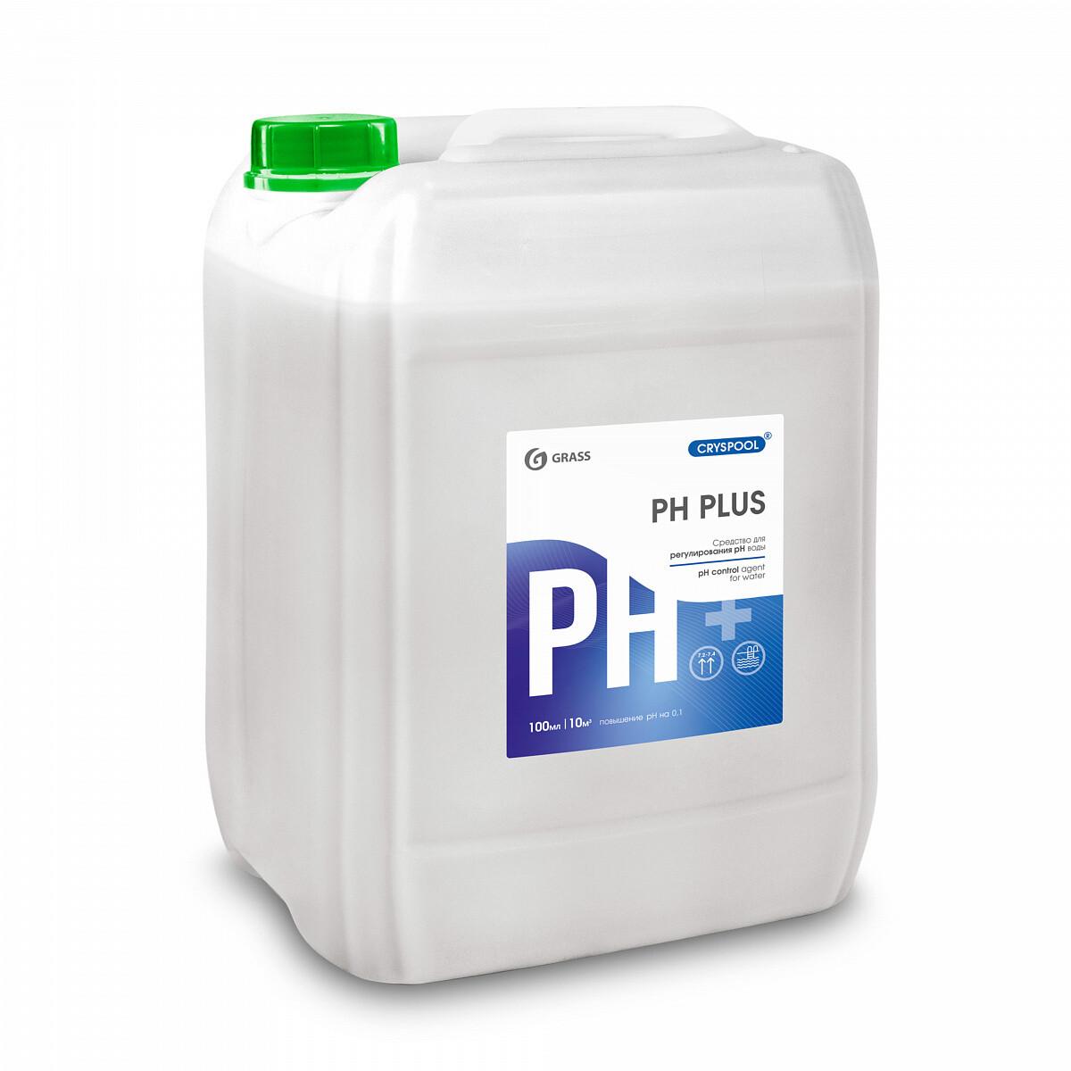 Средство для регулирования pH воды CRYSPOOL рН plus, 23кг