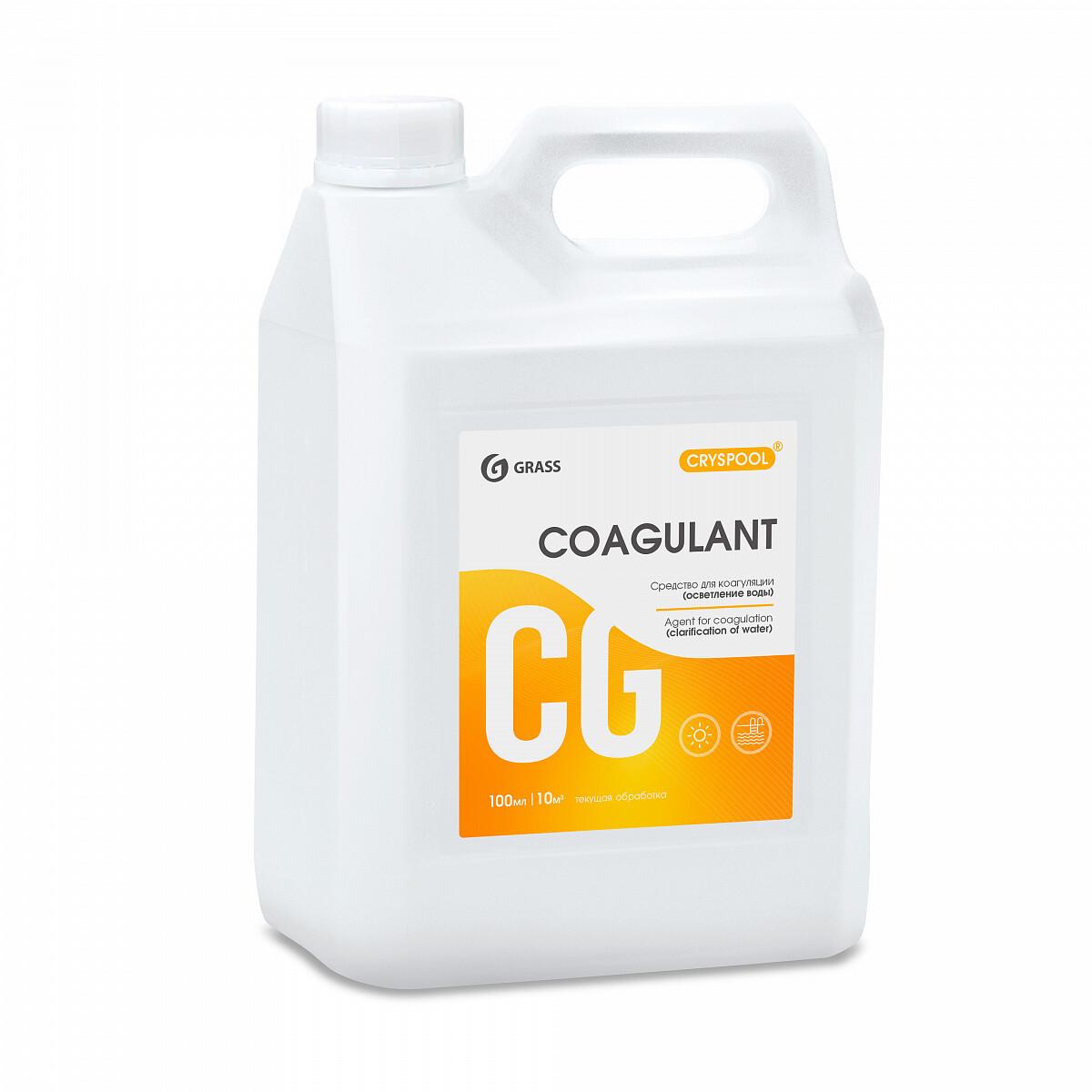 Средство для коагуляции (осветления) воды CRYSPOOL Coagulant, 5,9 кг