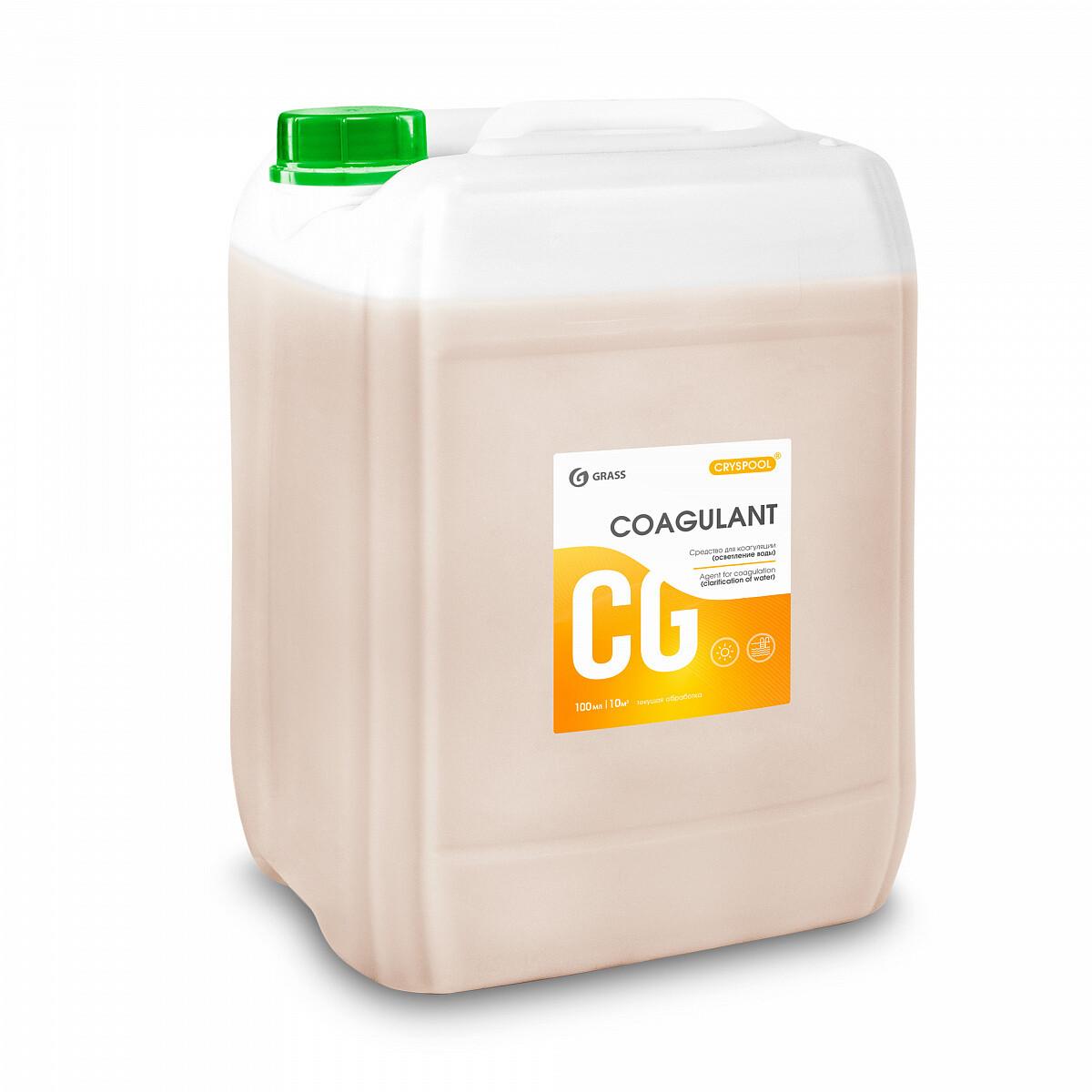 Средство для коагуляции (осветления) воды CRYSPOOL Coagulant, 35 кг