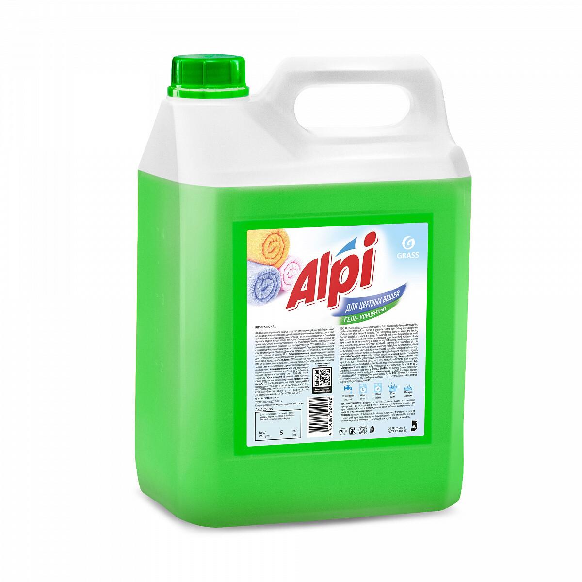 """Гель-концентрат для цветных вещей """"Alpi color gel"""", 5 л"""