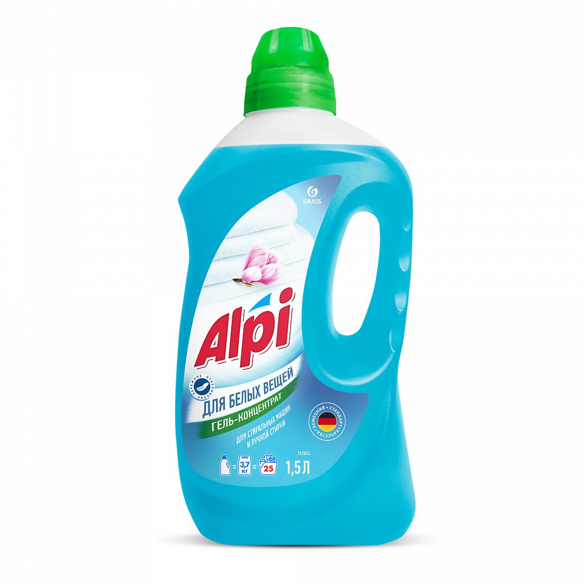 """Гель-концентрат для белых вещей """"ALPI"""" 1,5 л"""