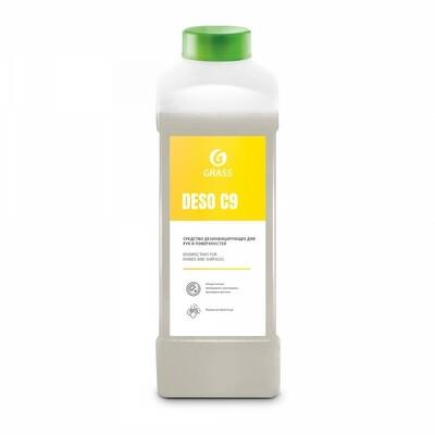 Дезинфицирующее средство на основе изопропилового спирта DESO C9, канистра 1 л