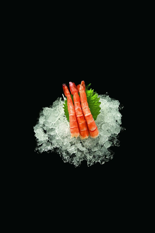 Креветка сашими