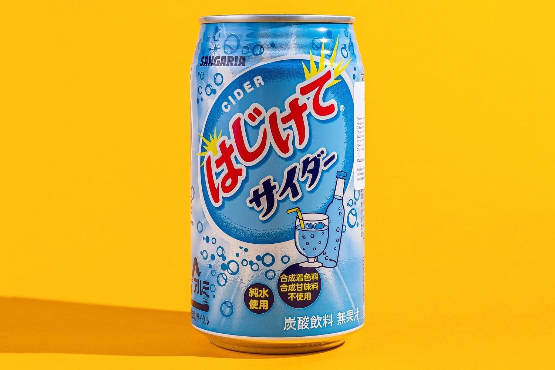 Японский лимонад в ассортименте (Имбирный. Апельсин. Виноград. Сидр фруктовый. Лайм-лимон. Дыня. )