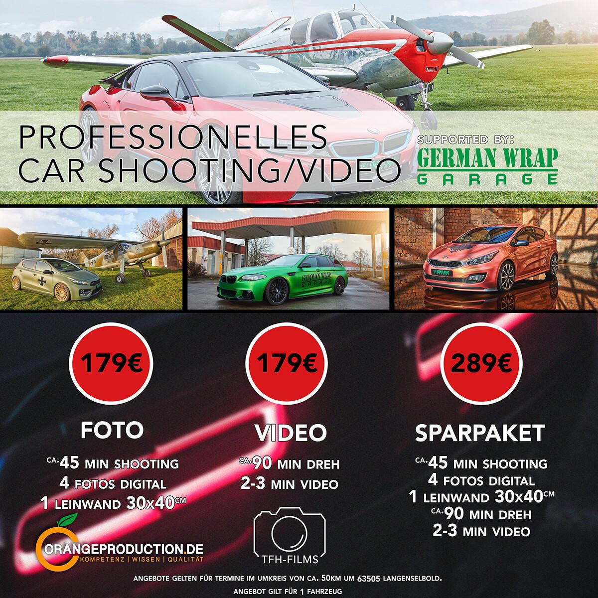 Carporn Video/Fotoshooting