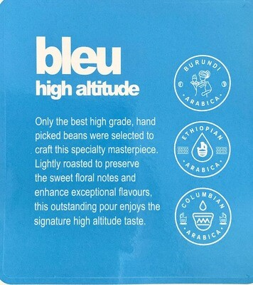 bleu high altitude 250g