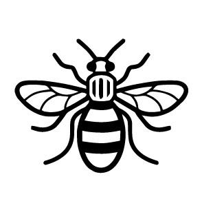 Manchester Bee Mono