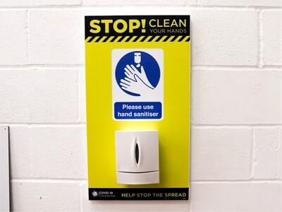 Outdoor or Indoor wall mount hand sanitiser station