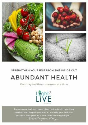 Abundant Health 1 - 1 coaching program